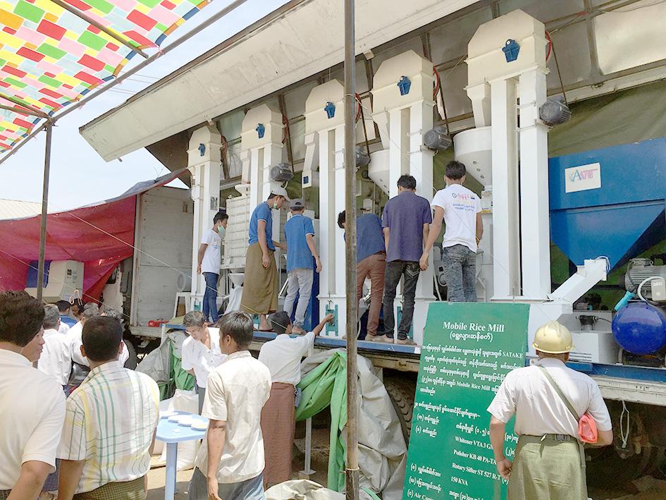 "Transfer"" Seminar for Rice Milling Machinery in Myanmar"